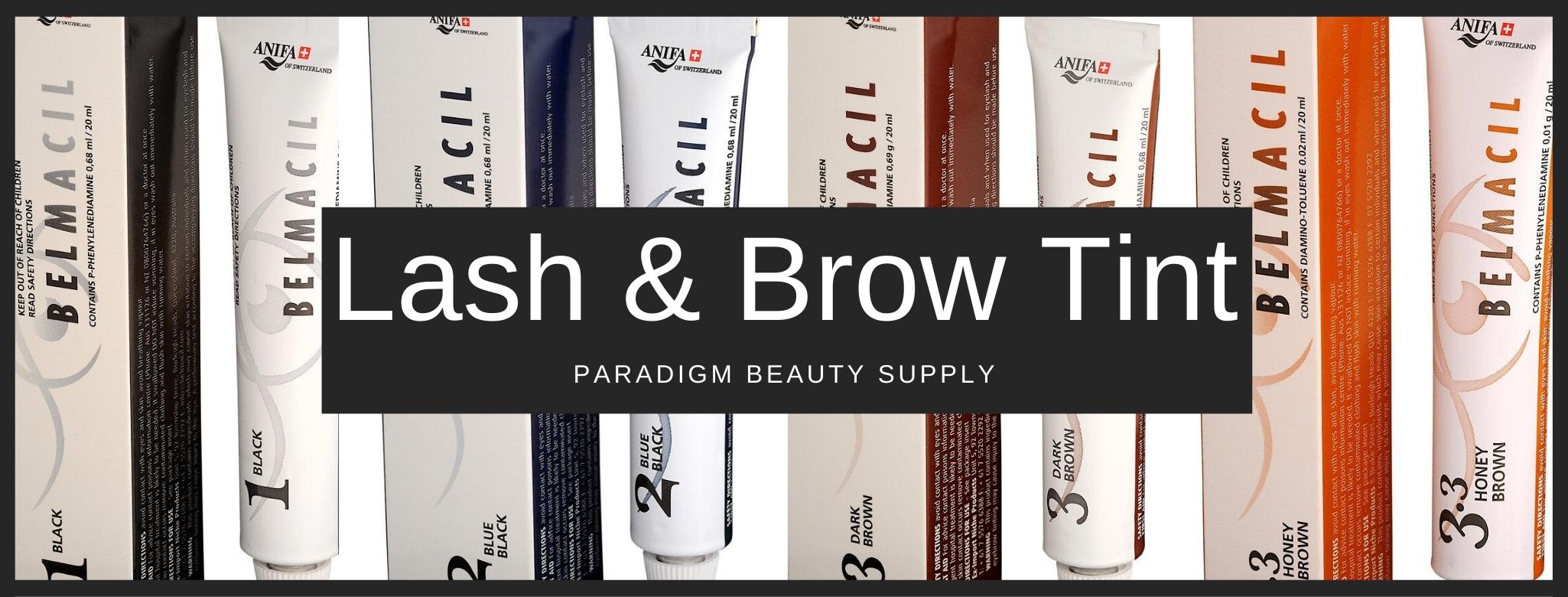 Lash and Brow Tint Products