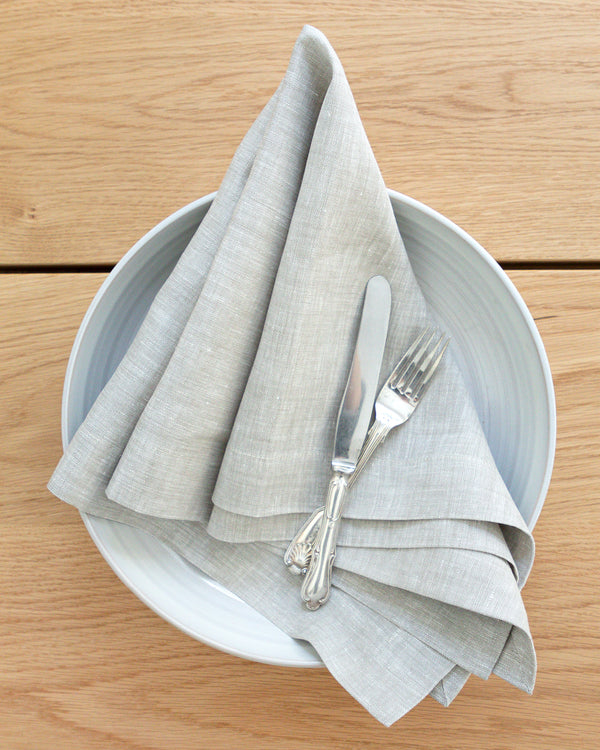 Grace natural linen napkin from Hemme