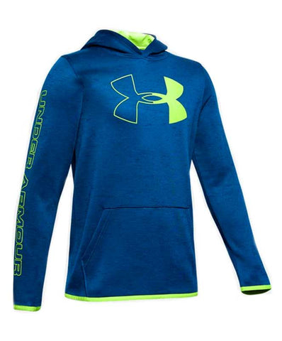 Under Armour Boy's Fleece Branded Hoody