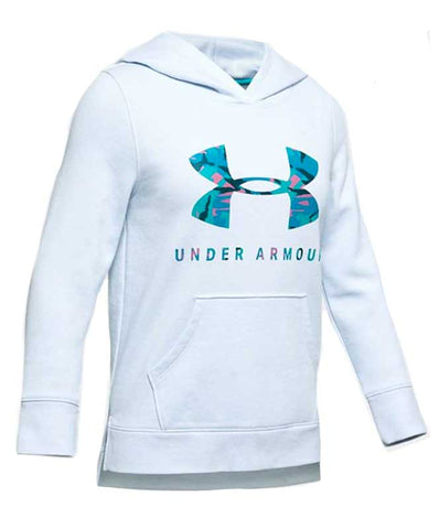 Under Armour Girl's Rival Print Fill Logo Hoody