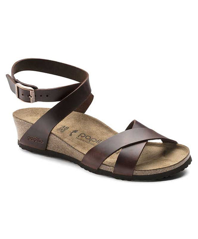 Birkenstock Women's Lola Natural Leather Wedges