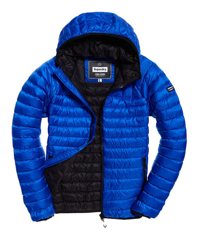 Superdry Men's Core Down Hooded Jacket