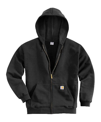 Carhartt Men's MW Hooded Zip Front Sweatshirt