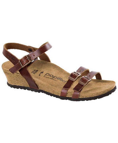 Birkenstock Women's Lana Natural Leather Wedges