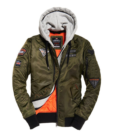 Superdry Men's Patch Rookie Flight Bomber