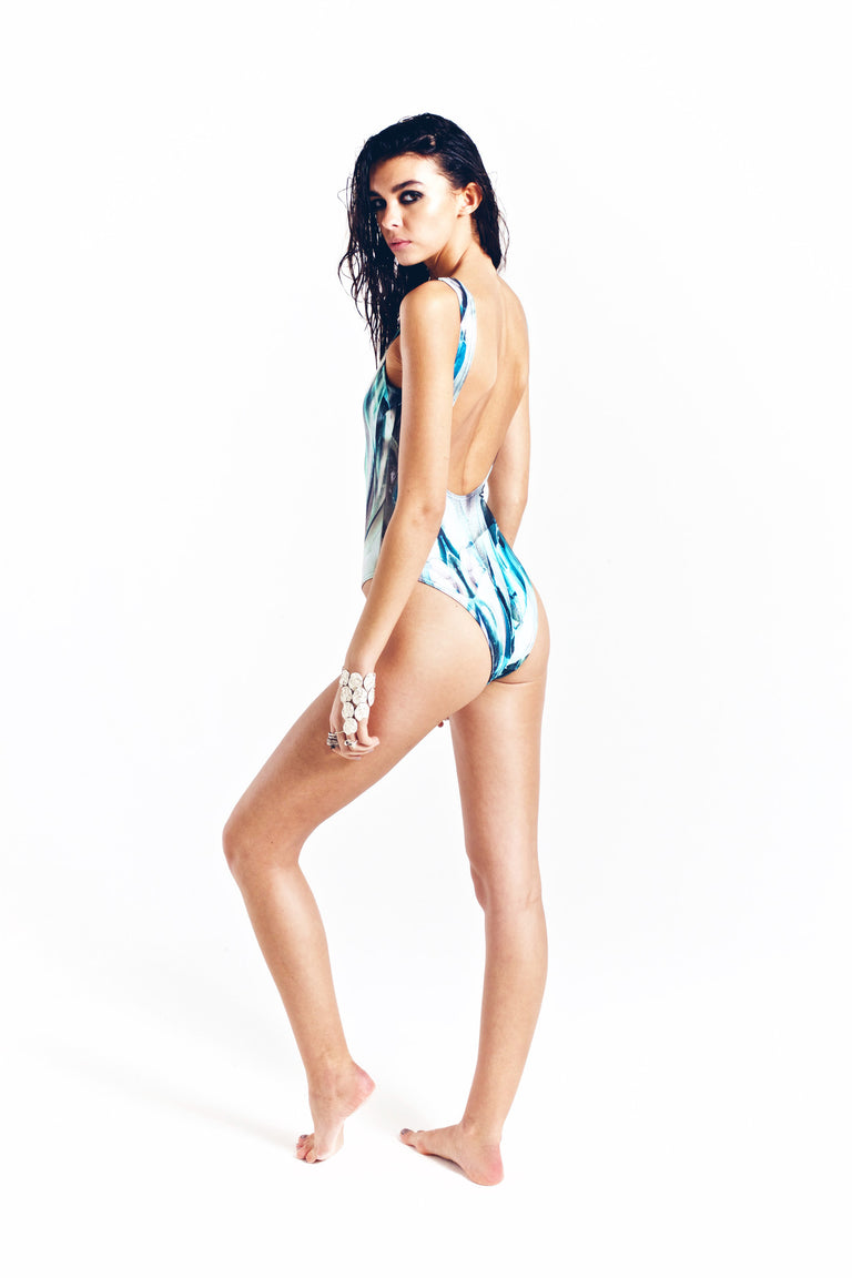 MONA SWIMS MAILLOT ONE-PIECE AZOLLA PRINT