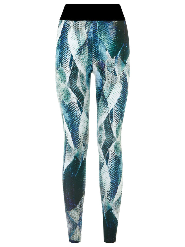 Aqua Chakora Leggings