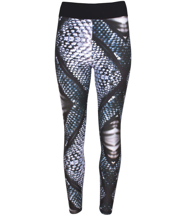 Mona Swims Icelandic Skin Printed Leggings