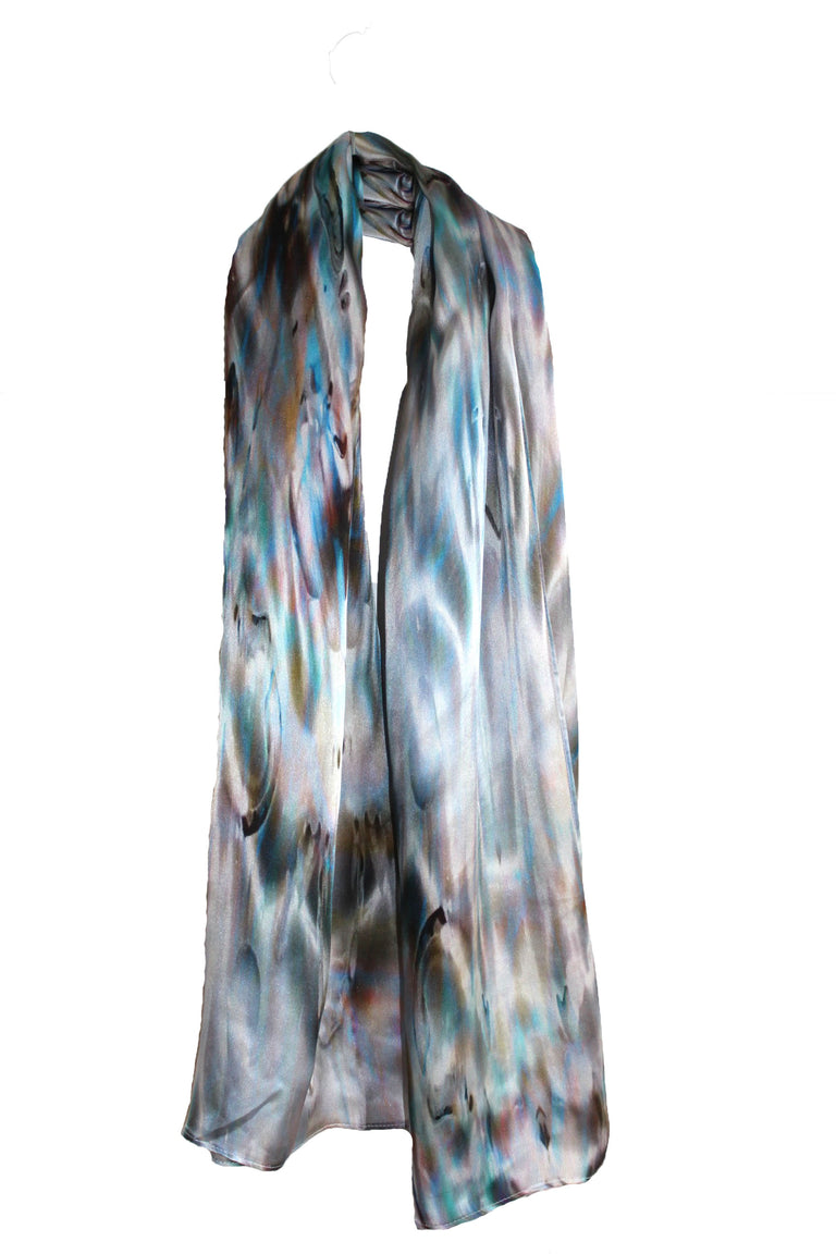 Shell Silk Scarf