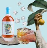 Collage Fancy Rum Punch