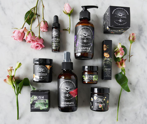 Essential Apothecary Alchemist skincare products