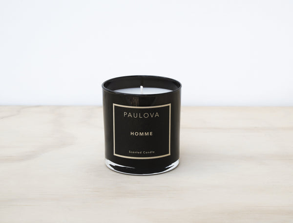 HOMME GLASS CANDLE