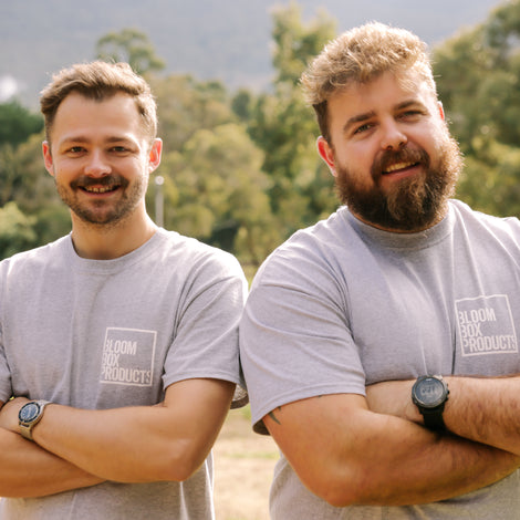 Photo of Bloom Box owners Roger and Jacob
