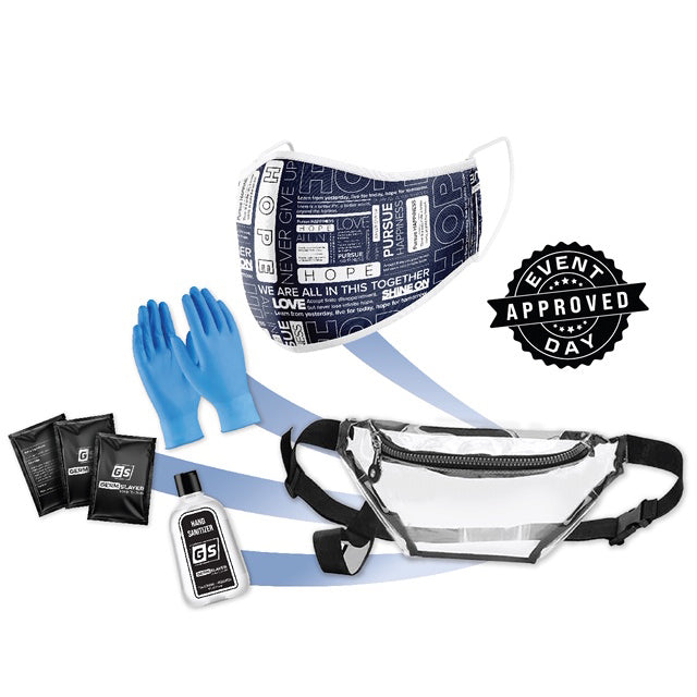 Hope Mask PPE Kit w/ Fanny Pack