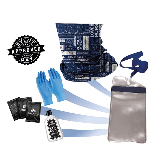 Hope Gaiter PPE Kit w/ Waterproof Phone Case
