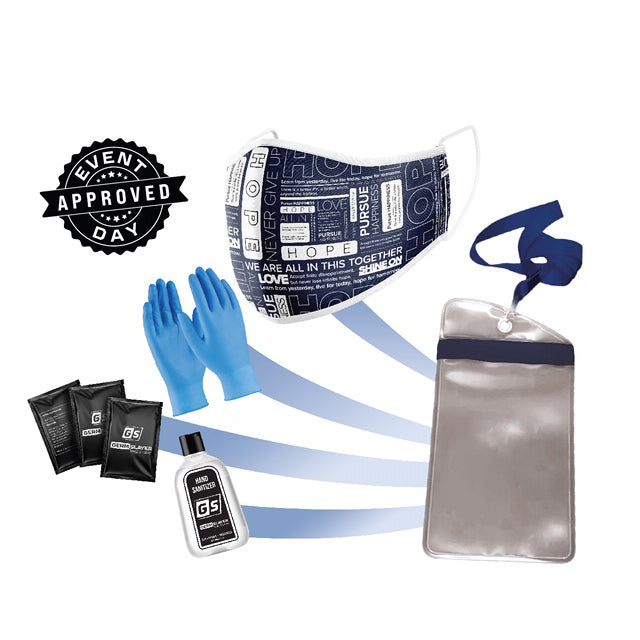 Hope Mask PPE Kit w/ Waterproof Phone Case