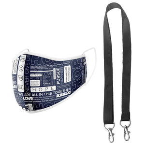 Mask and Lanyard Set