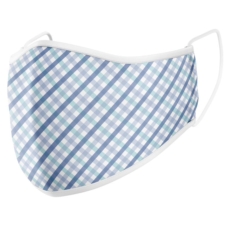 GermSlayer Gingham Cloth Mask