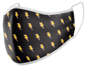 GermSlayer Lightning Bolts Cloth Mask