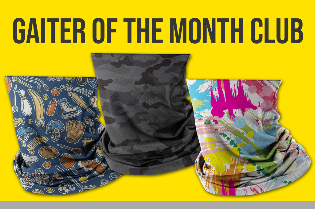 12 Month Gaiter of the Month Subscription (2 Gaiters/Month)