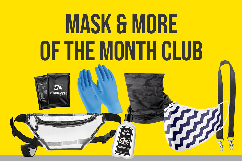 3 Month Masks and More of the Month Subscription (PPE Kits Each Month)