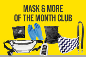 12 Month Masks and More of the Month Subscription (PPE Kits Each Month)