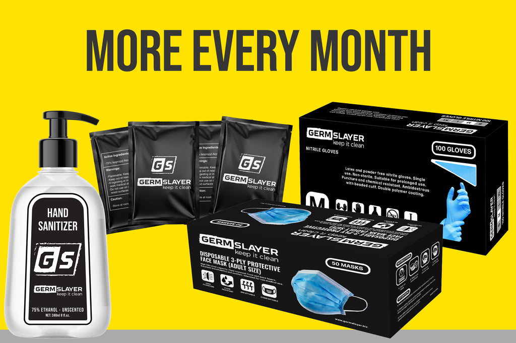 6 Month More of the Month Subscription (PPE Products)