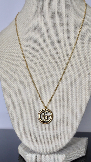 Gold Gucci Necklace