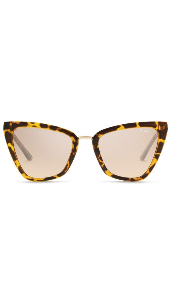 Tortoise Shell Reina Mini Quay Sunnies