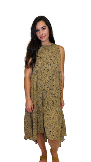 Load image into Gallery viewer, Mocha On the Spot Dress