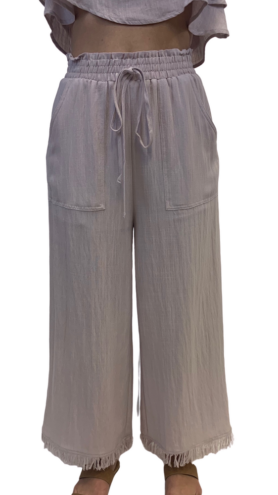 Load image into Gallery viewer, Lilac Breezy Wide Leg Pant