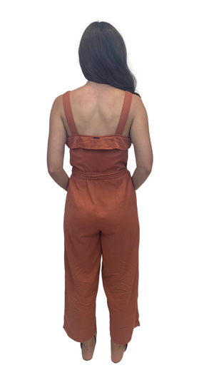 Rust Orange You Pretty Jumpsuit
