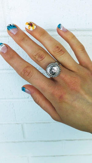 Silver Lining Chanel Ring