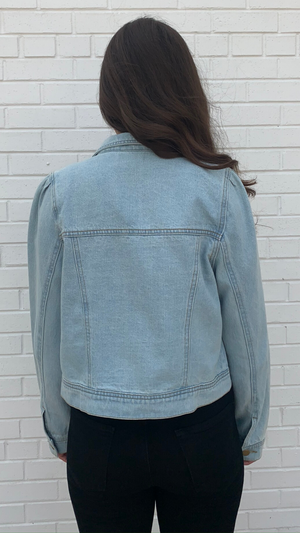 Washed Everyday Denim Jacket