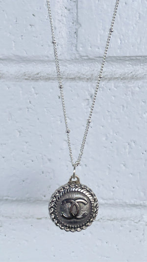 Silver Shimmer and Shine CC Necklace