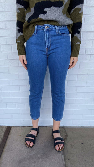 Load image into Gallery viewer, Medium Wash Basic High Waist Jean