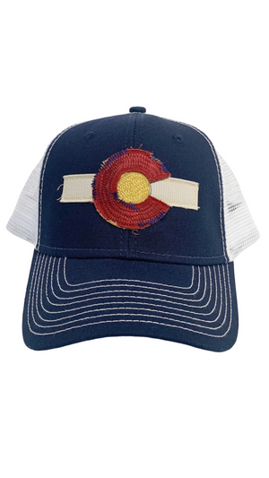 Navy Colorado Dreamin' Trucker Hat