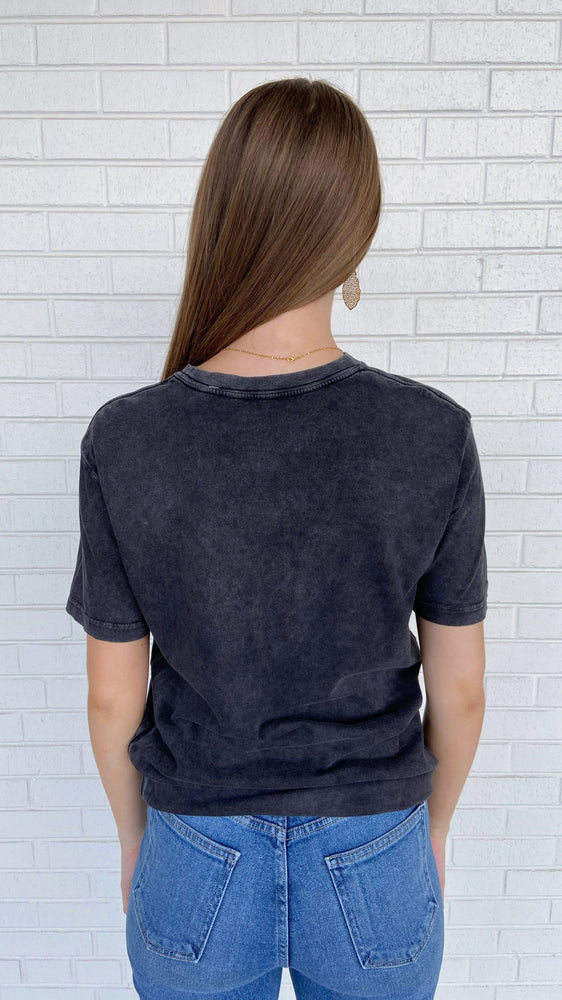 Load image into Gallery viewer, Charcoal Take a Walk Tee