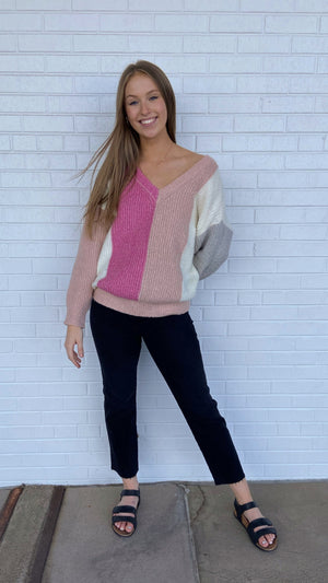 Think Pink Sweater