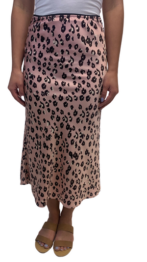 Load image into Gallery viewer, Pink Cheetah Midi