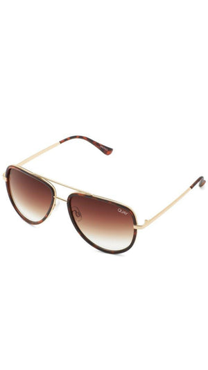 Tortoise Shell Brown All In Quay Sunnies