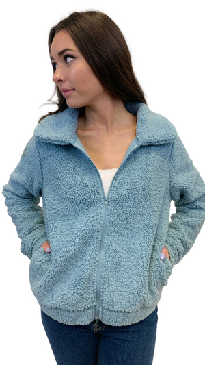 Lake Blue Cuddle Up Fleece