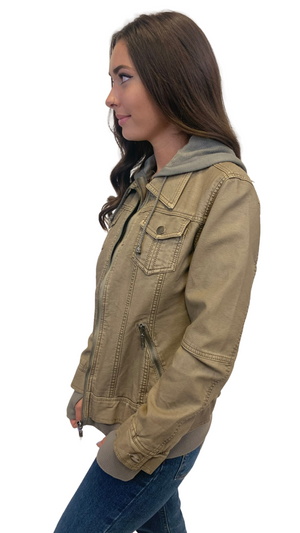 Load image into Gallery viewer, Olive Date Night Jacket
