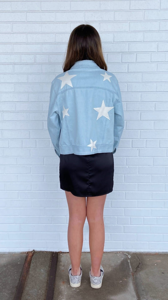 Light Wash You're the Star Jacket