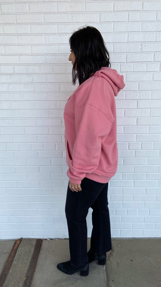 Load image into Gallery viewer, Pink Oversized Hoodie