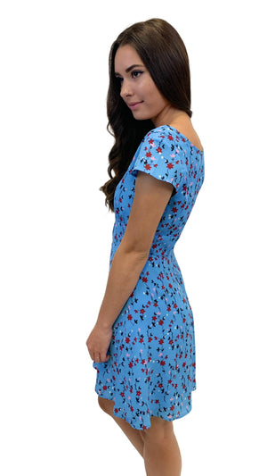 Load image into Gallery viewer, Blue La Femme Dress