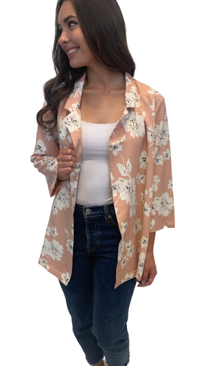 Just Peachy Vacation Jacket