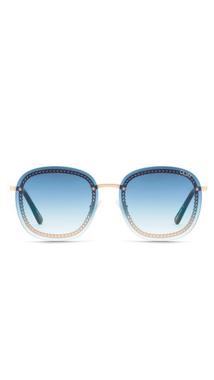 Blue Fade Chain Jezabell Sunnies