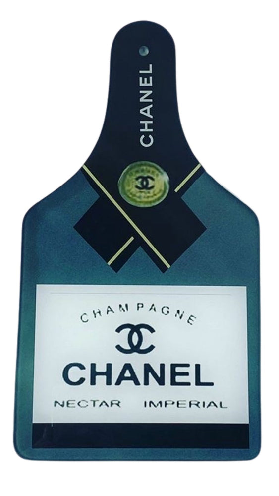 Load image into Gallery viewer, Chanel Champagne Cutting Board