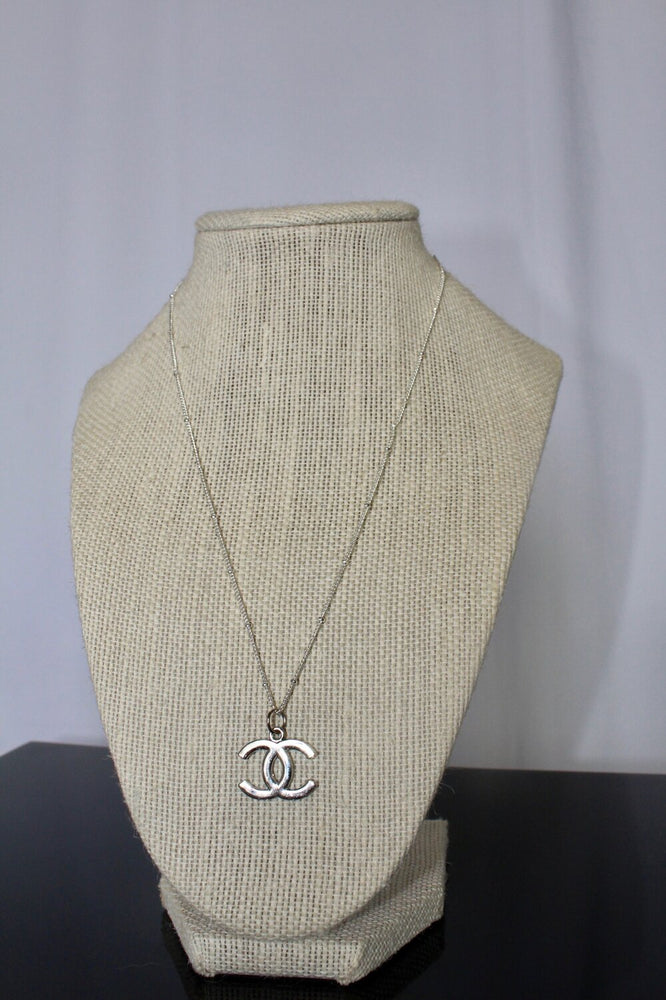 Silver Chanel Necklace